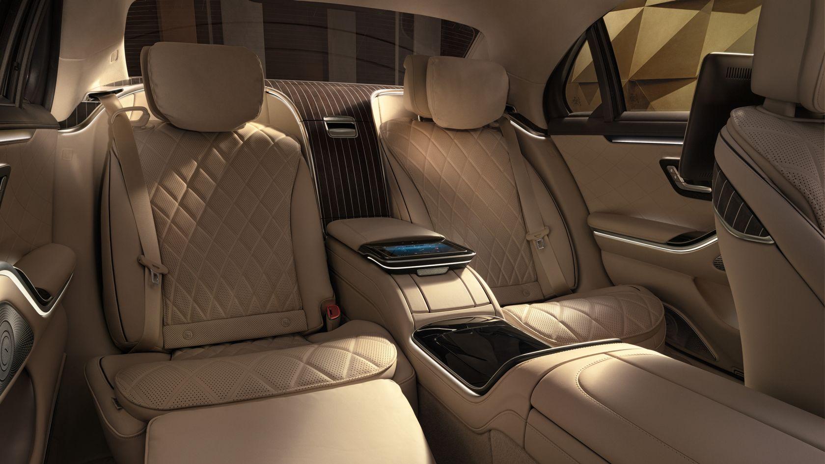 interni Mercedes Classe S W223 m.y. 2021
